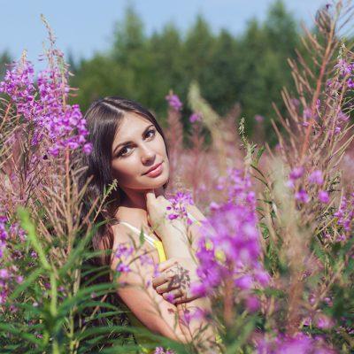 Ника. Портретная фотосессия в Петербурге.