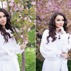 Катя. Портретная фотосессия в Петербурге.