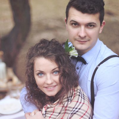 Игорь и Евгения. Семейная фотосессия. Рустик.
