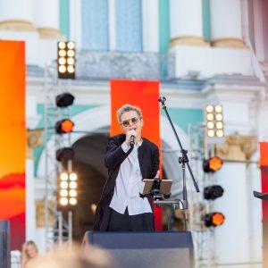 «Сурганова и Оркестр». День ВМФ 2019. Дворцовая площадь.28.07.2019г.