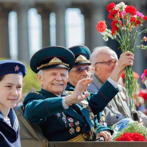 9 мая 2019г. Бессмертный полк. Санкт-Петербург.